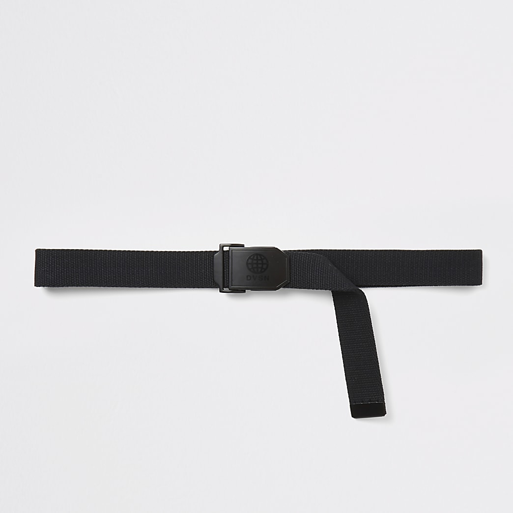 DVSN black plate buckle belt