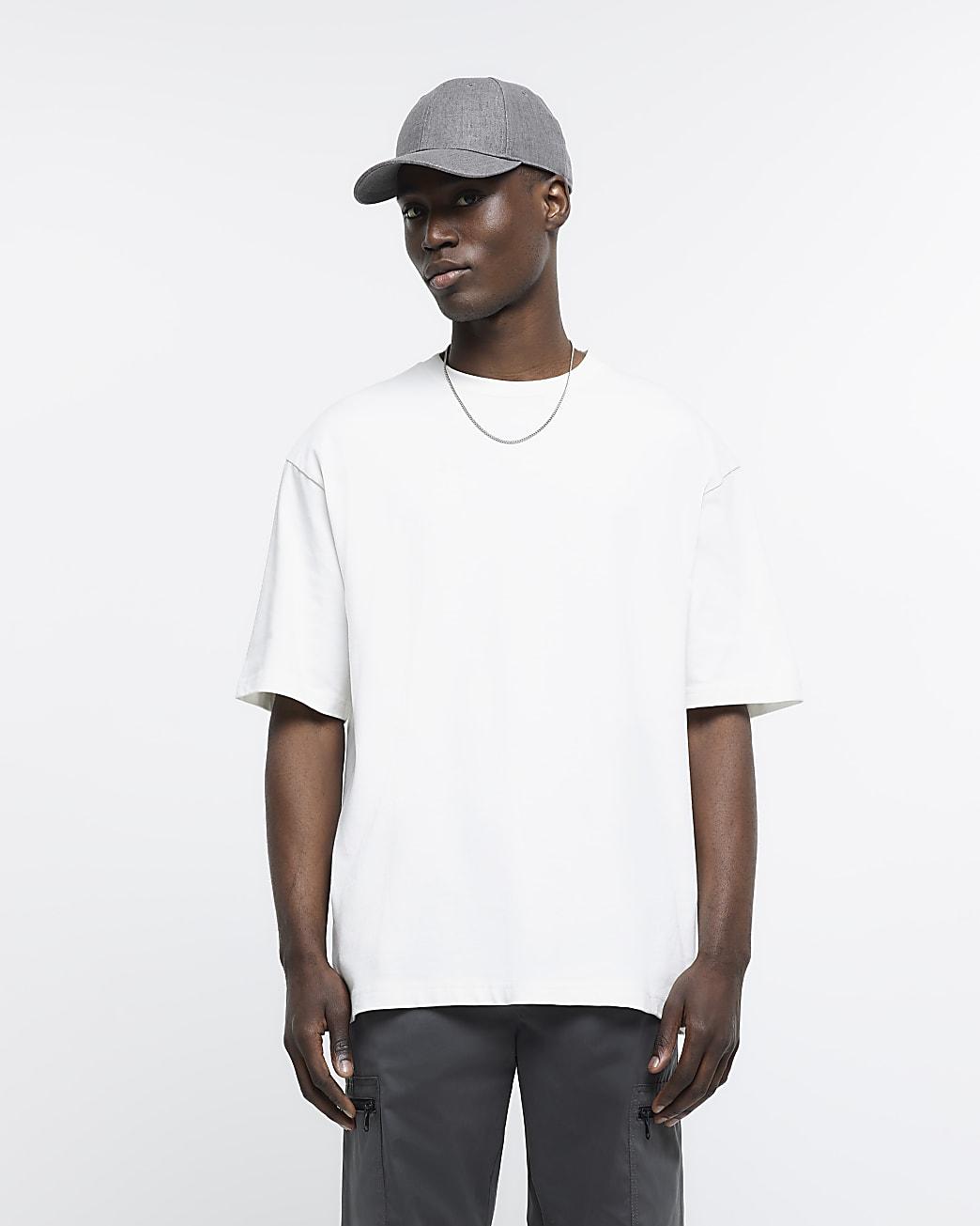 Ecru RI Studio oversized fit t-shirt