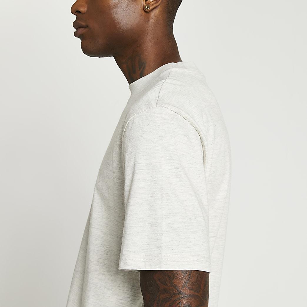 Ecru short sleeve t-shirt