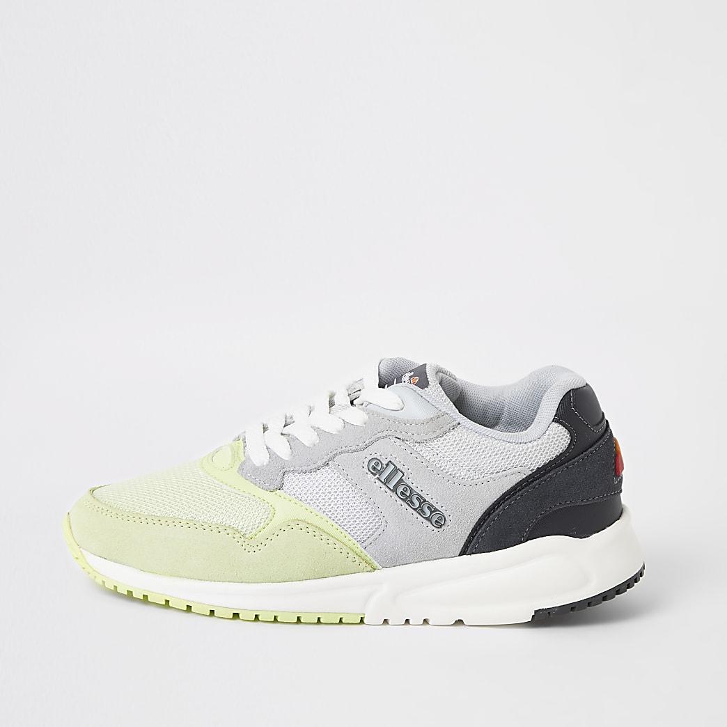 Ellesse NYC84 – Sneaker in Grau und Grün