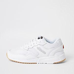 Ellesse– Baskets à lacets NYC84 blanches