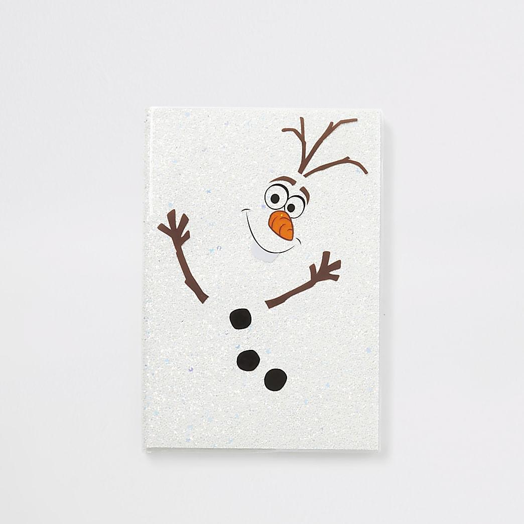 Frozen Olaf-notitieboek met glitters