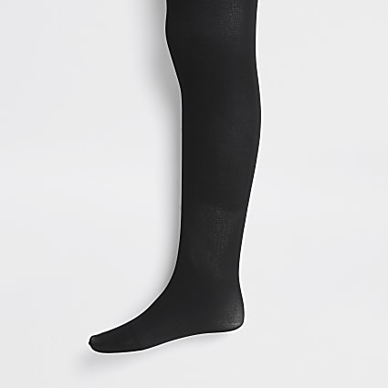 Girl black tights 2 pack