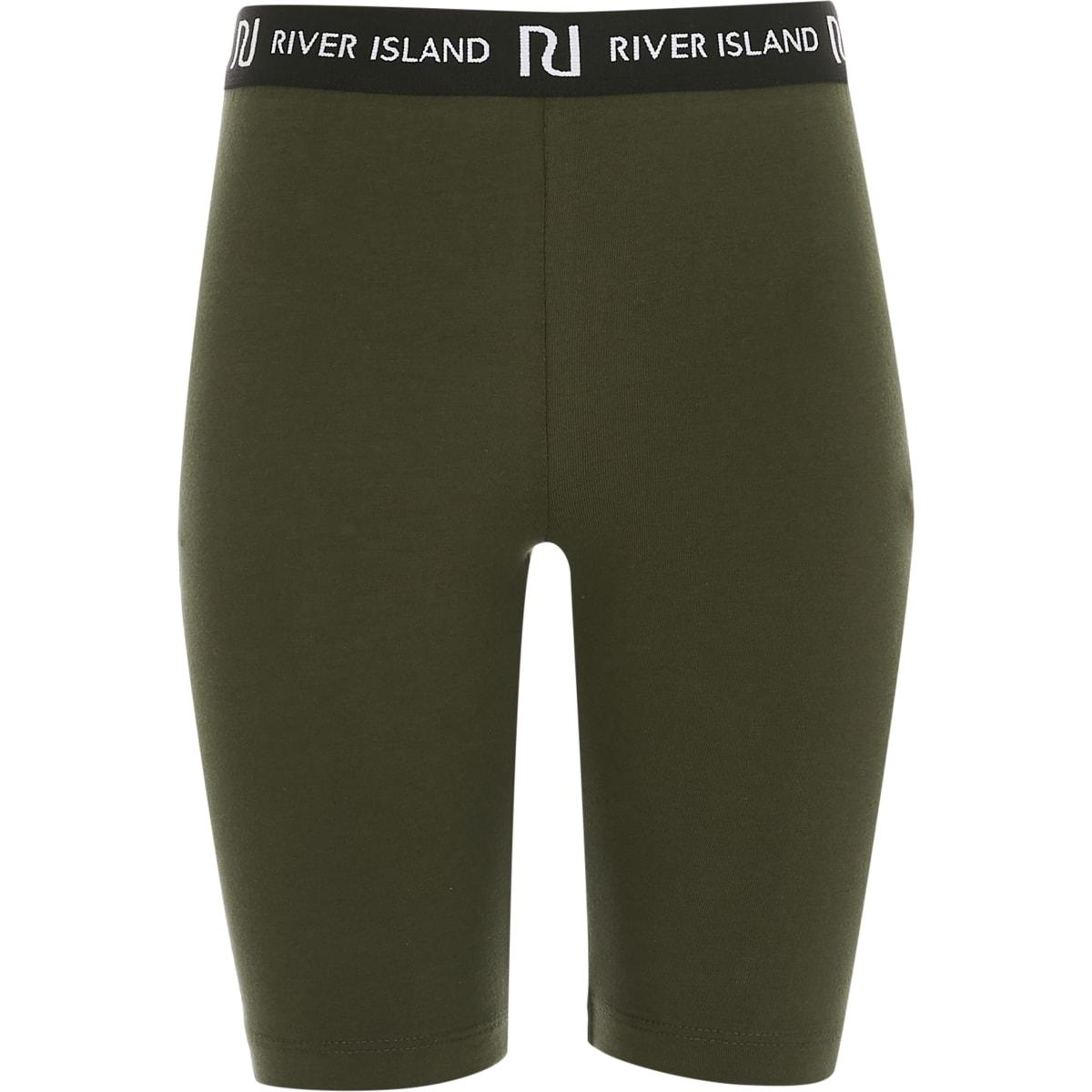 Girl khaki RI cycling shorts
