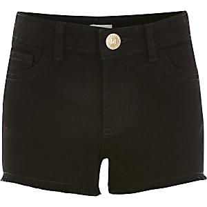 Zwarte relaxte Becca shorts voor meisjes