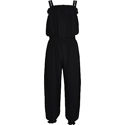 Girls black jumpsuit