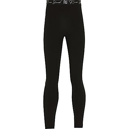 Girls black leggings