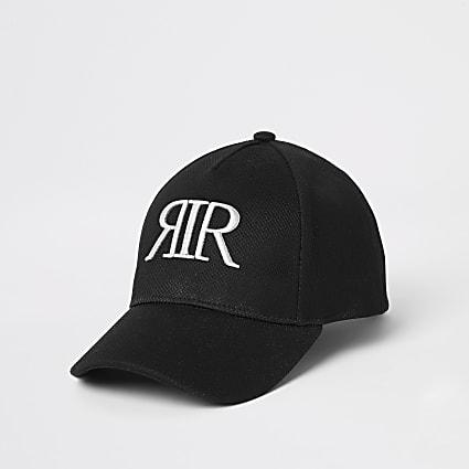 Girls black mesh RIR cap