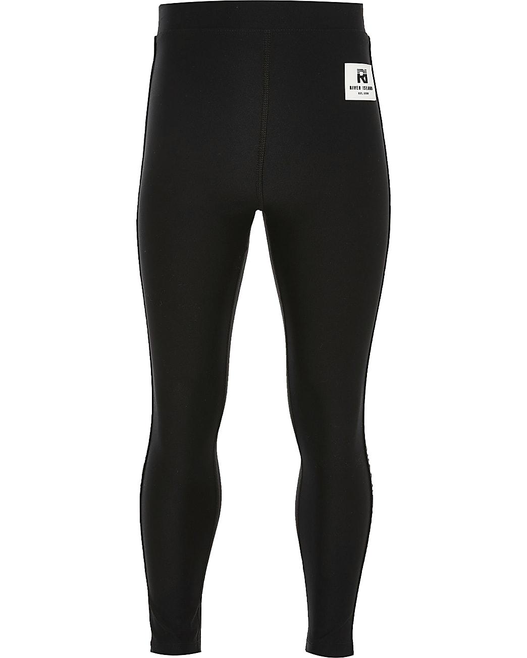 Girls black RI active leggings