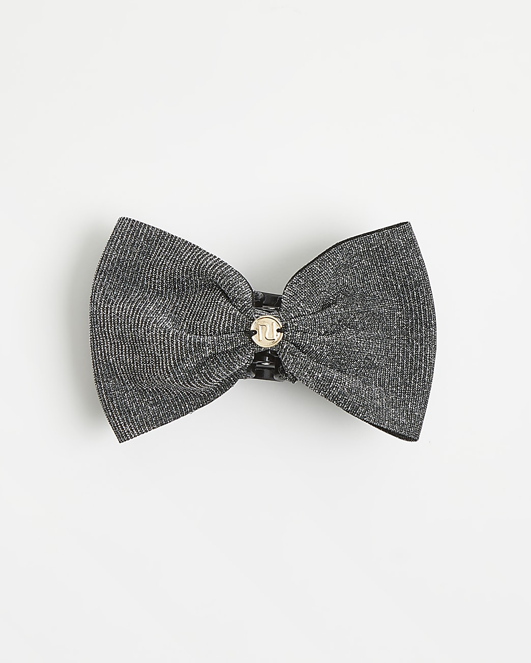 Girls black sparkle hair clip