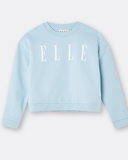 Girls blue ELLE long sleeve top