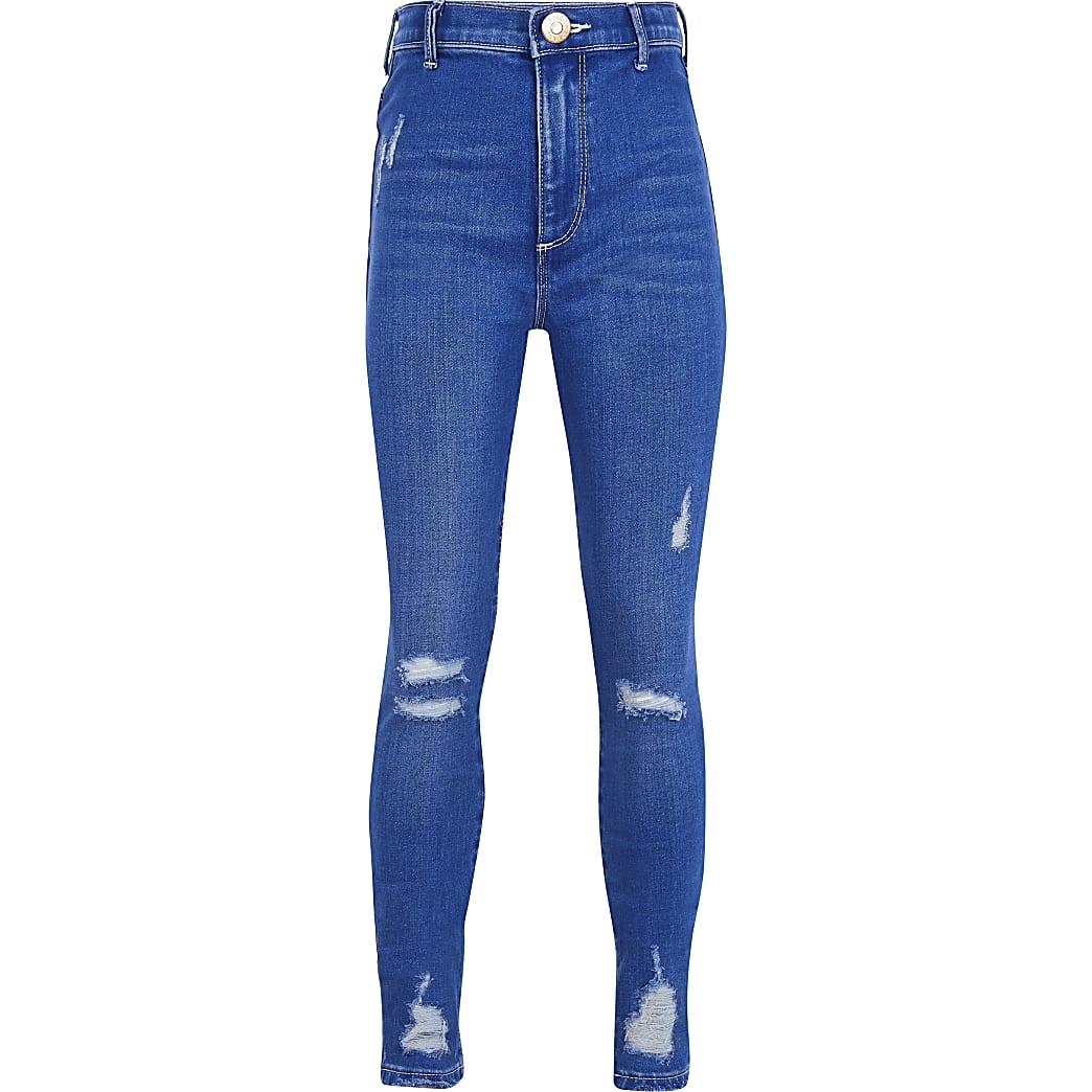 Girls Blue Kaia Jean