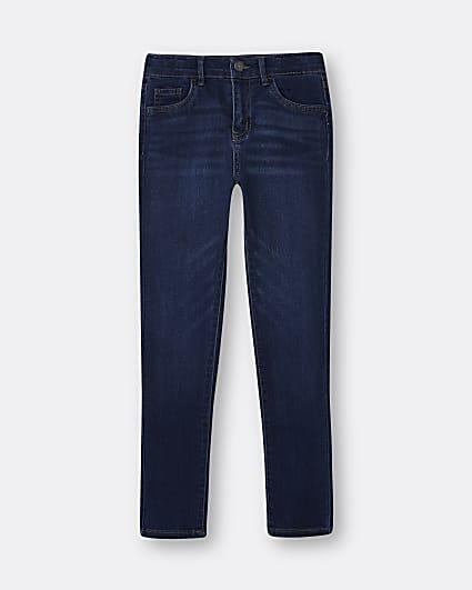 Girls blue Levi's skinny jeans