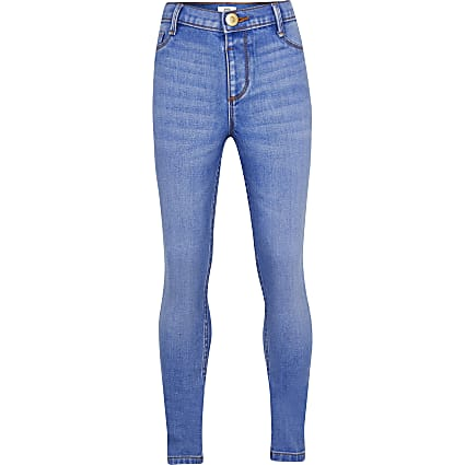 Girls blue Molly mid rise jegging