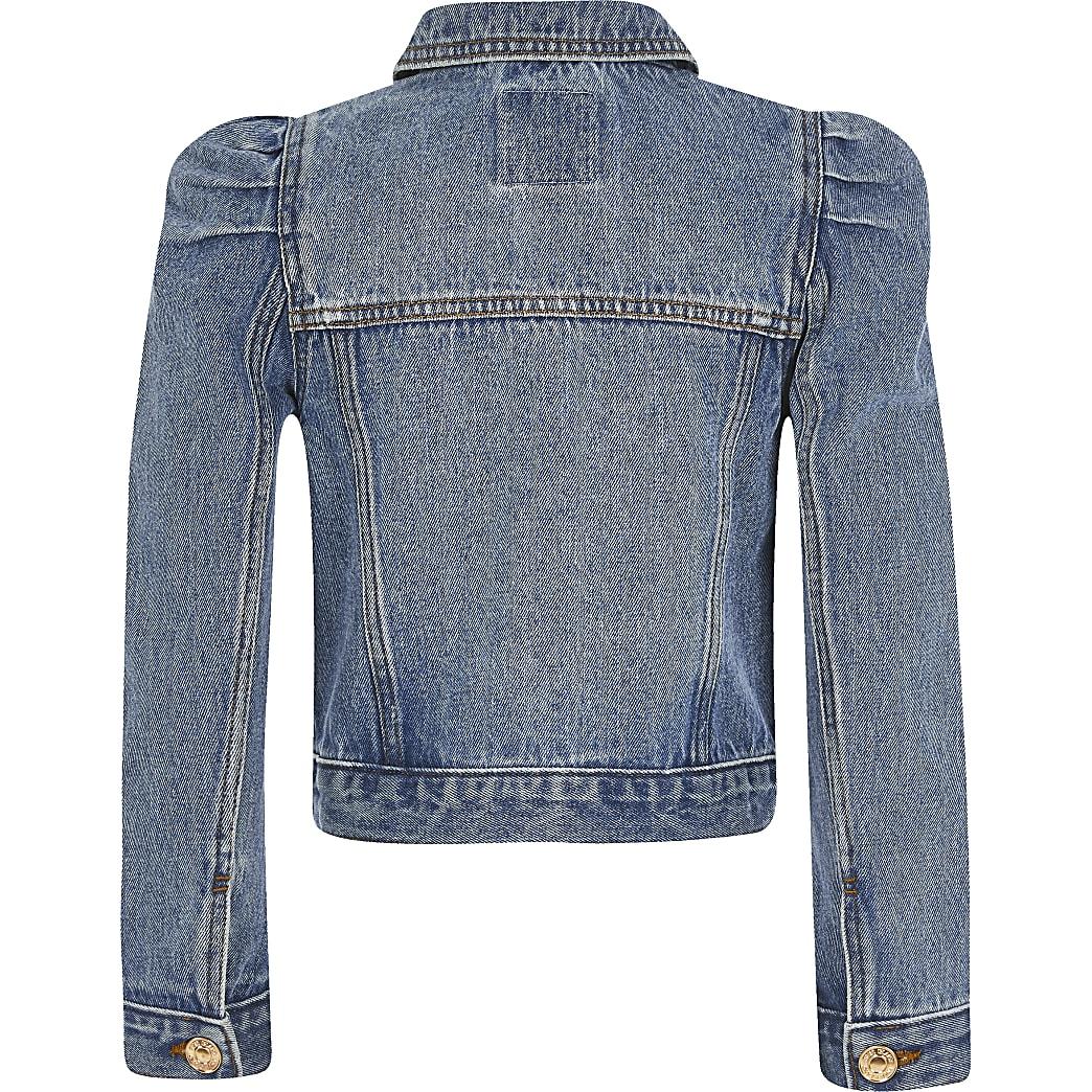 ladies smart denim jacket