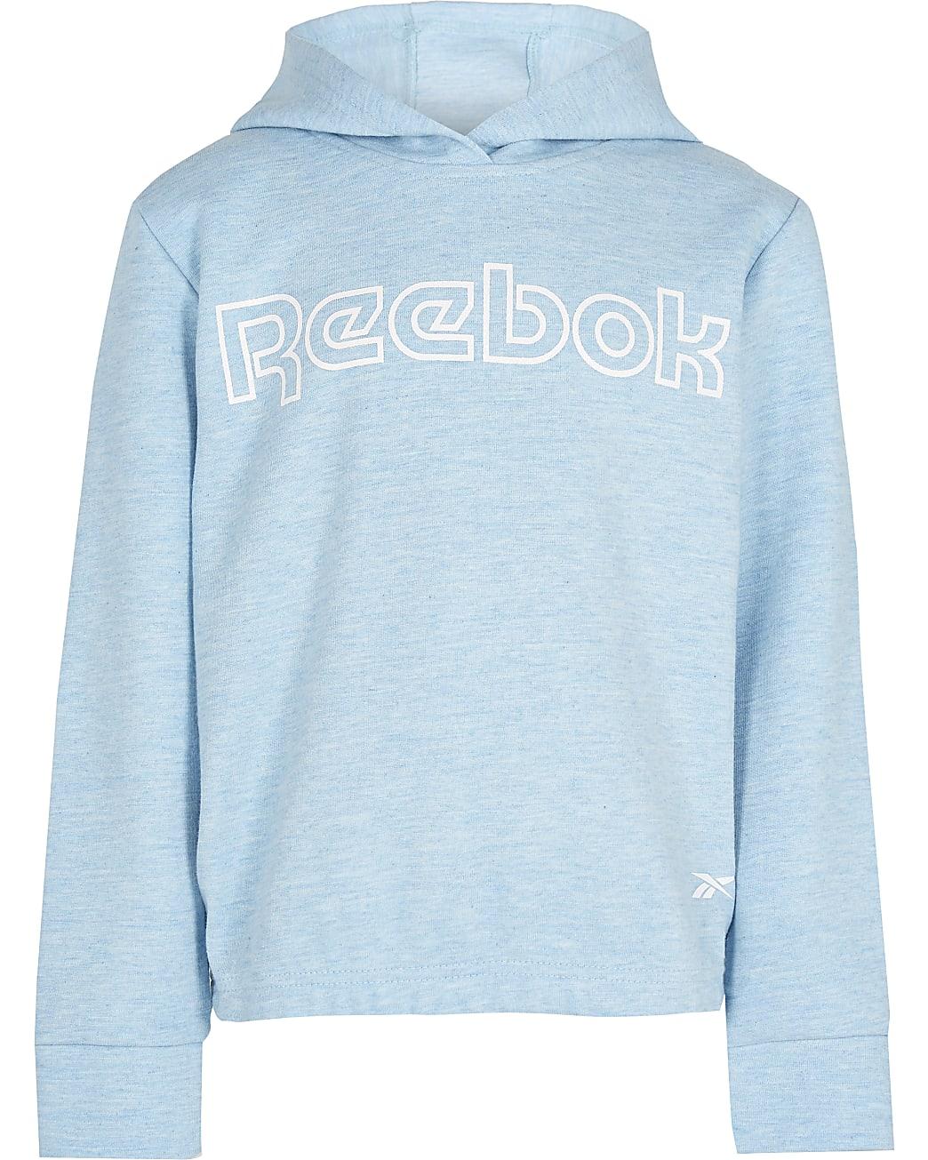Girls blue Reebok hoodie