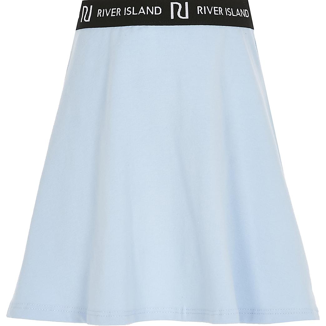 Girls blue RI skirt