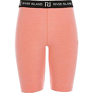 Girls bright pink RI cycling shorts