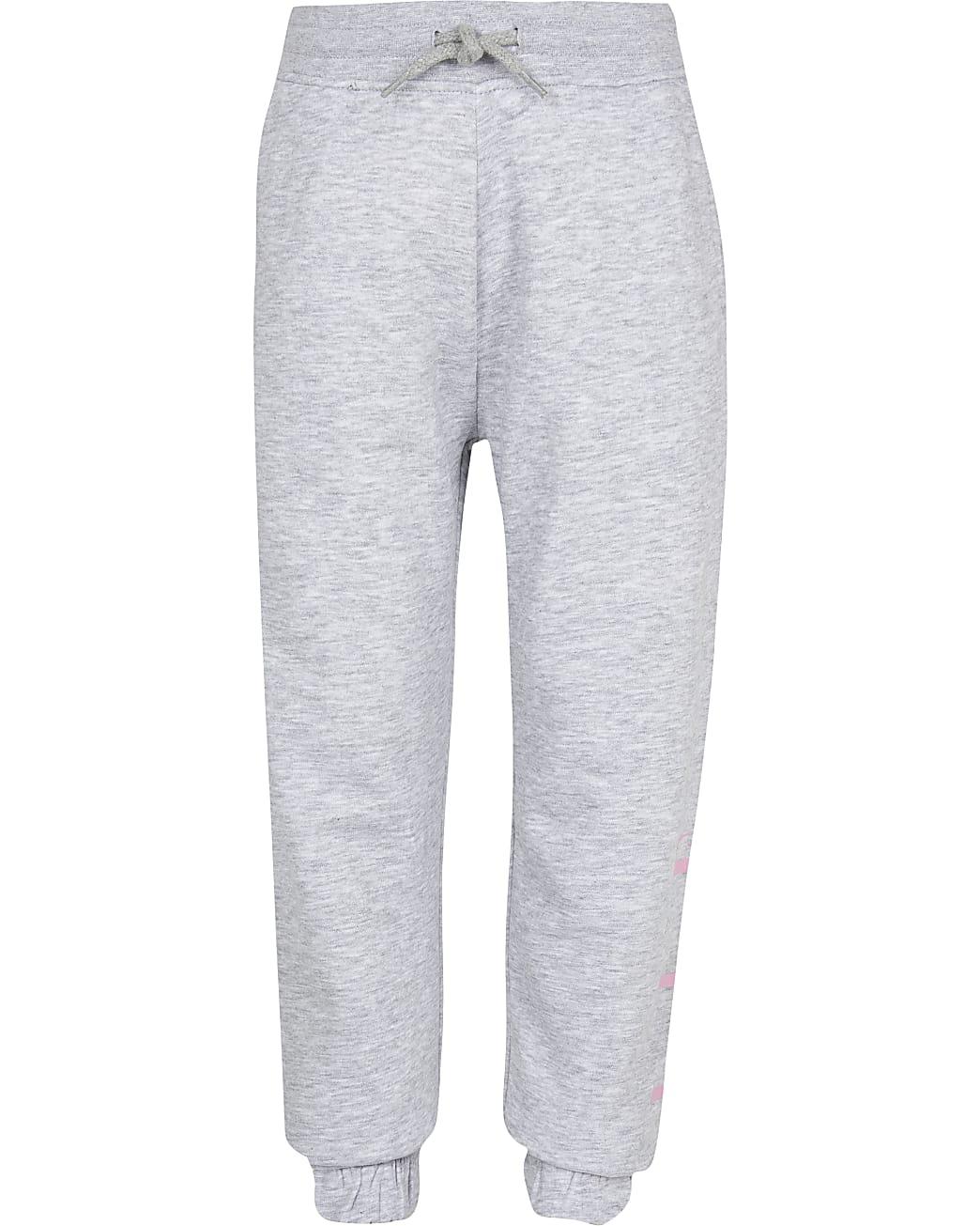 Girls ELLE grey joggers