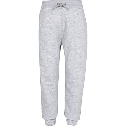 Girls ELLE grey joggers