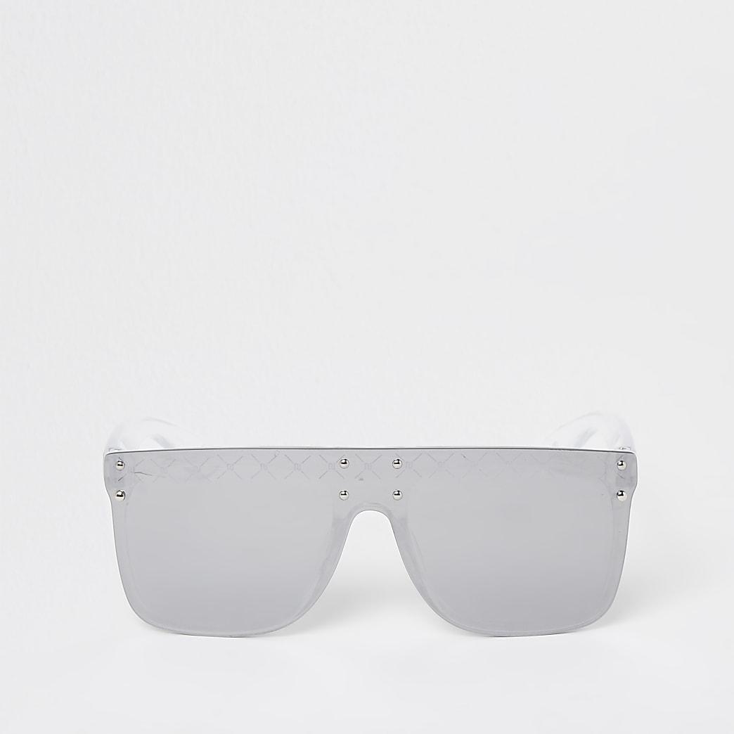 Girls grey clear visor sunglasses