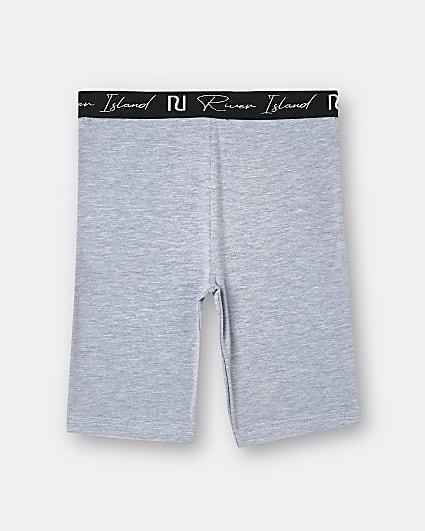 Girls grey cycle shorts