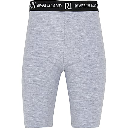 Girls grey cycling shorts
