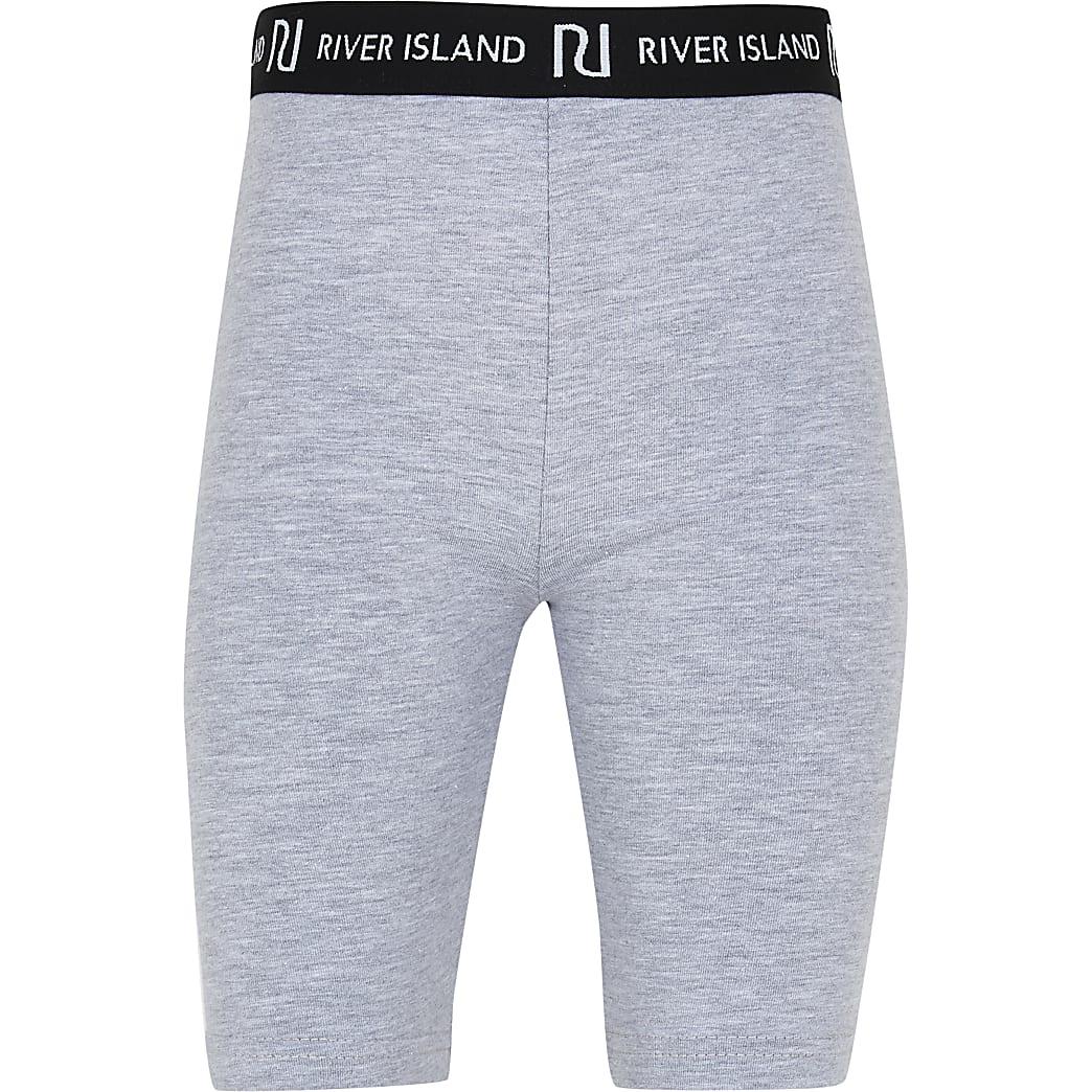 Girls grey cycling shorts