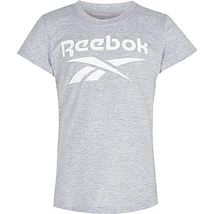 Girls grey Reebok t-shirt