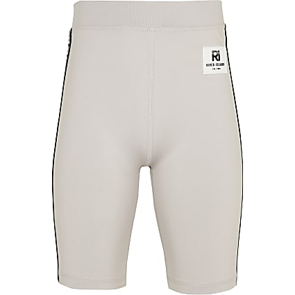 Girls grey RI Active cycling shorts