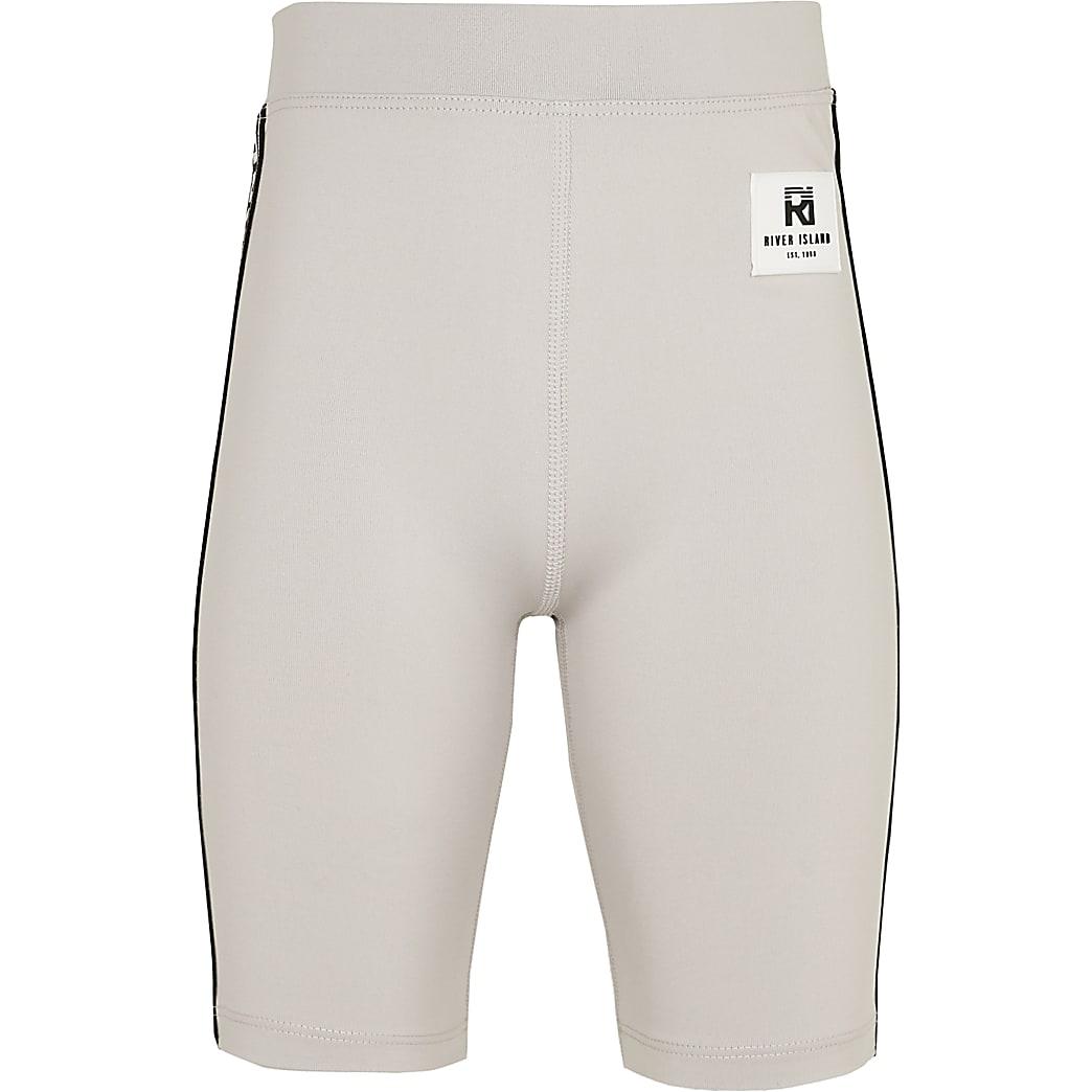 Girls grey RI Active cycling shorts