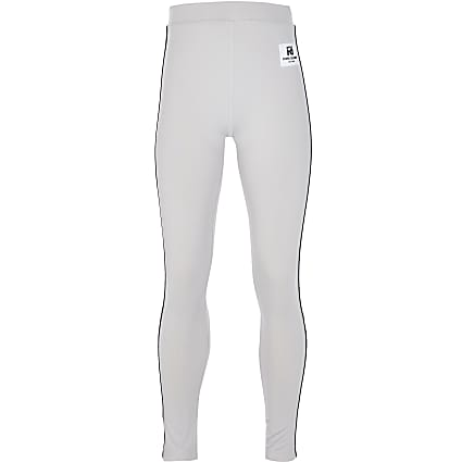 Girls grey RI Active leggings