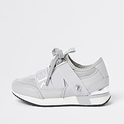 Girls grey RI runners