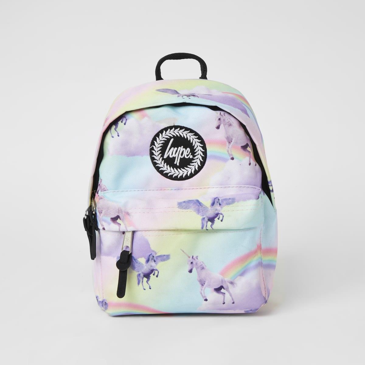 Hype - Roze heuptasje met eenhoornprint voor meisjes