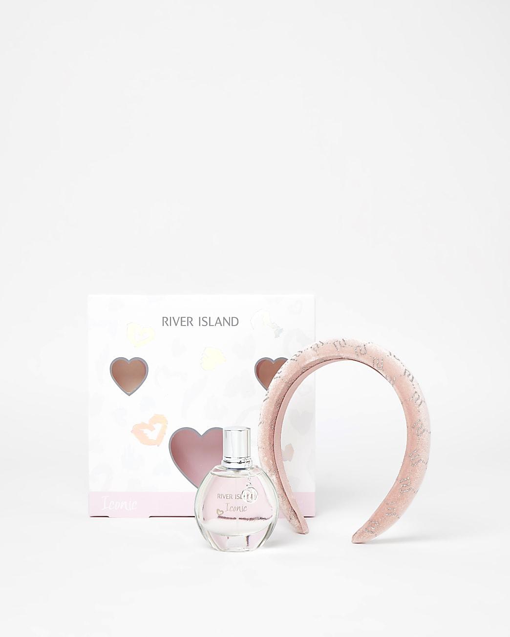 Girls Iconic perfume 30ml and hairband set