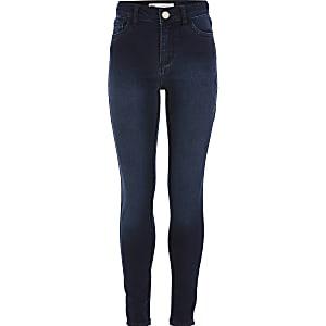 Levi's – Dunkelblaue Super Skinny Jeans für Mädchen