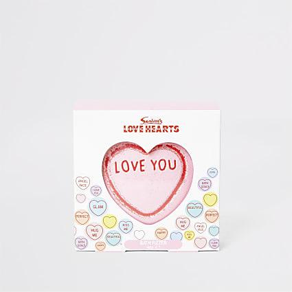 Girls Love Hearts bath fizzer