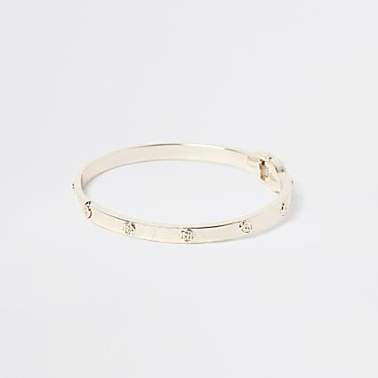 Girls metal RI clamp bracelet
