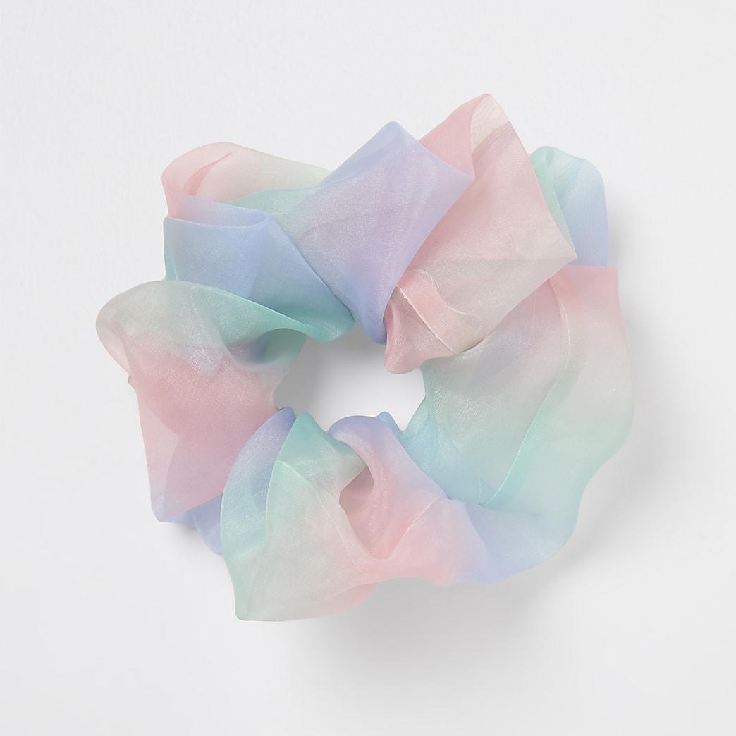 Girls pastel oversized scrunchie