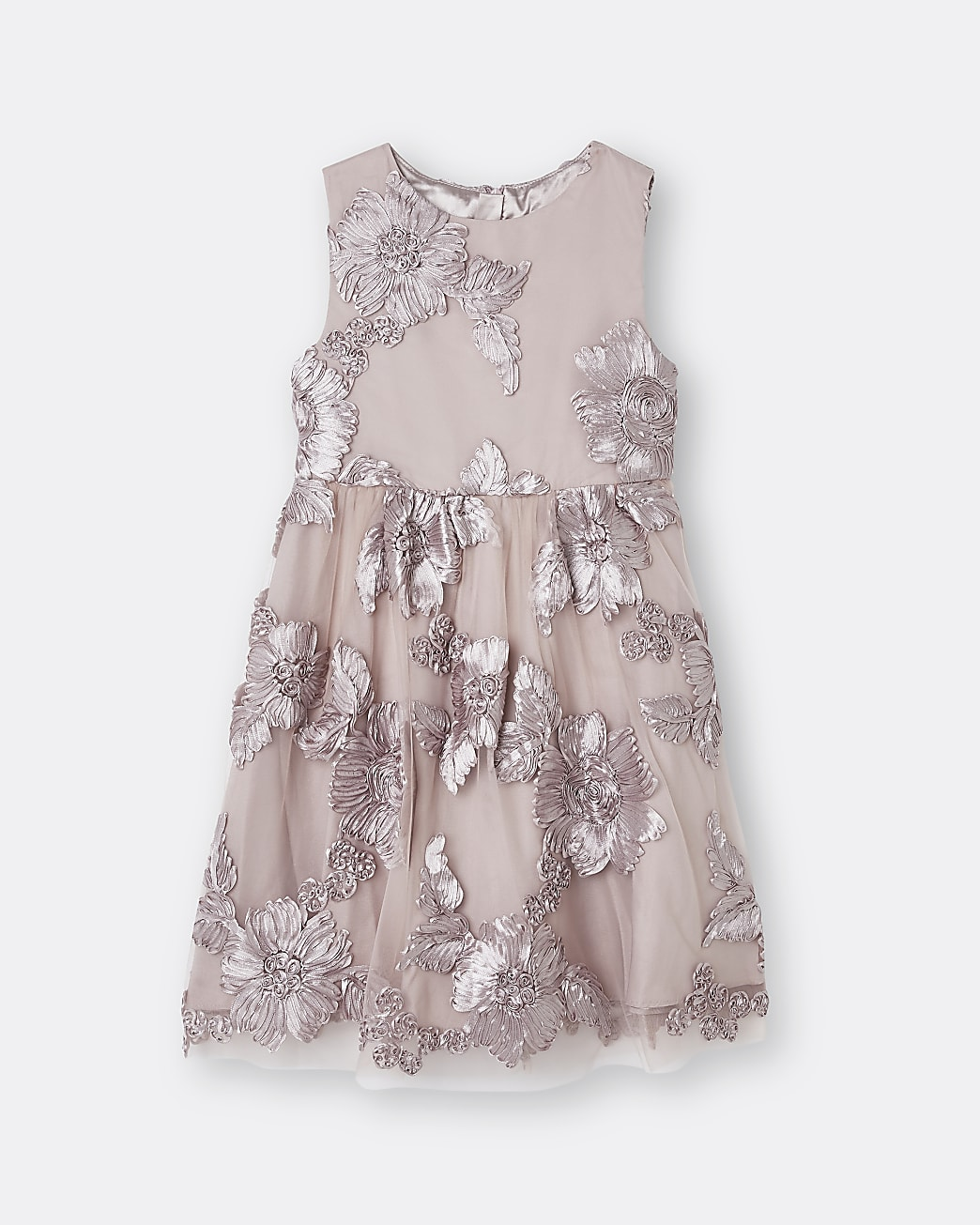 Girls pink Chi Chi butterfly detail dress