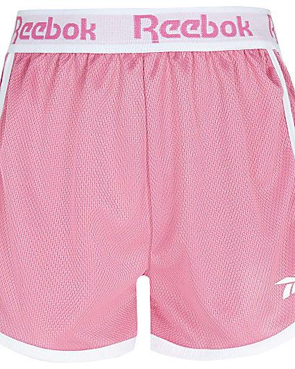 Girls pink Reebok shorts