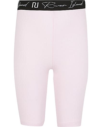 Girls pink RI cycling shorts