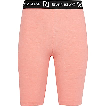 Girls pink RI cycling shorts