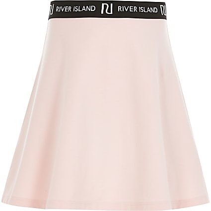 Girls pink RI skirt