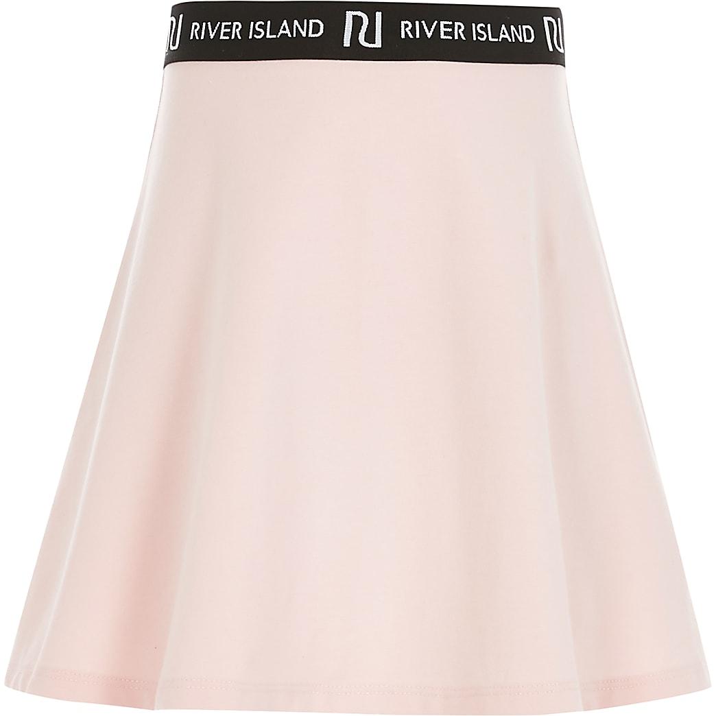 Girls pink RI skirt