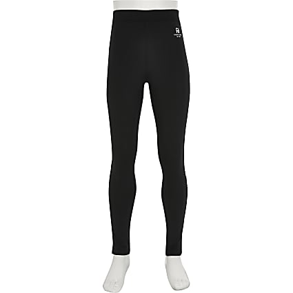 Girls RI Active black leggings