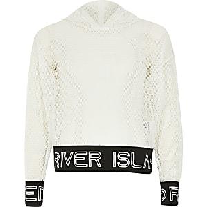 RI Active - Mesh hoodie voor meisjes