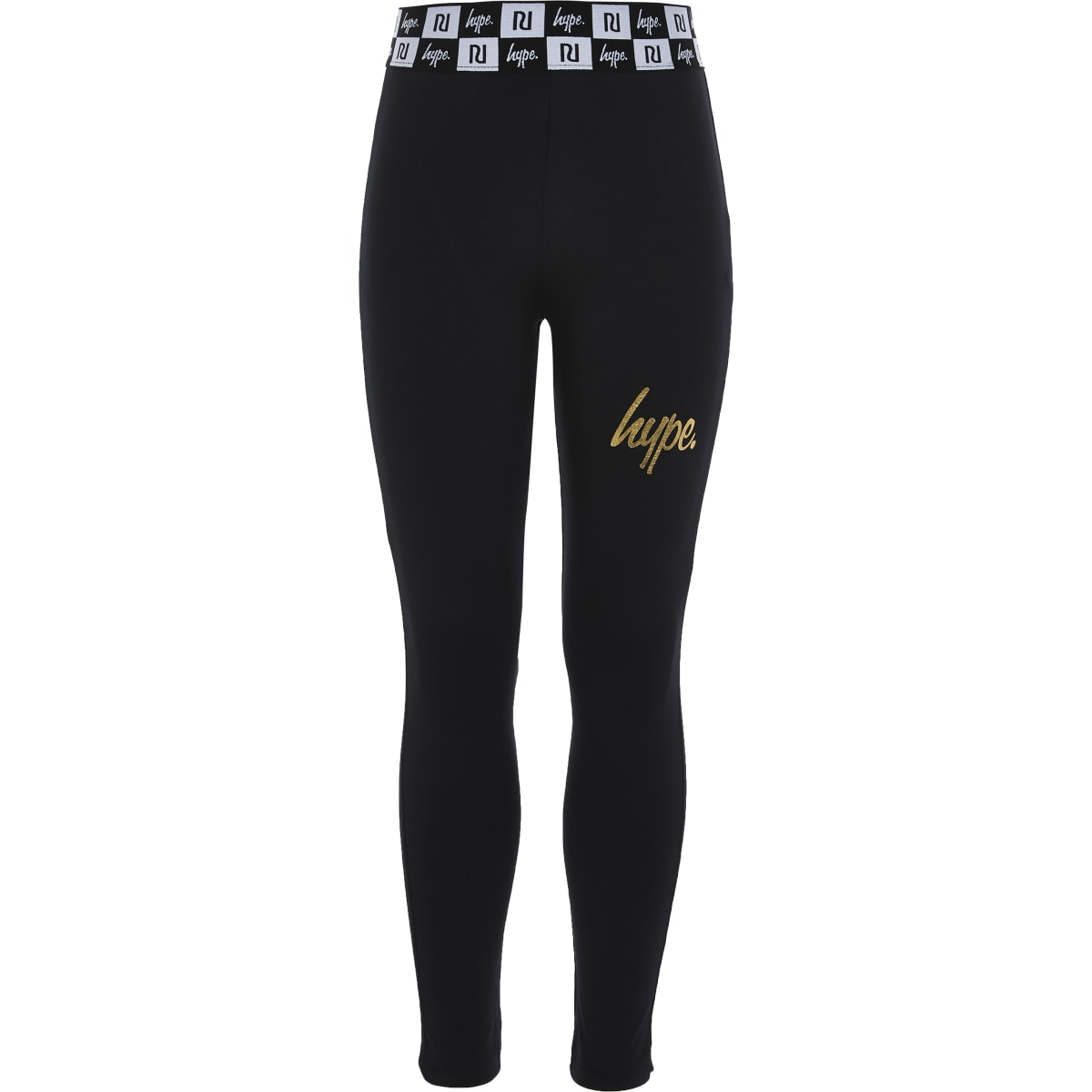 RI x Hype - Zwarte legging voor meisjes