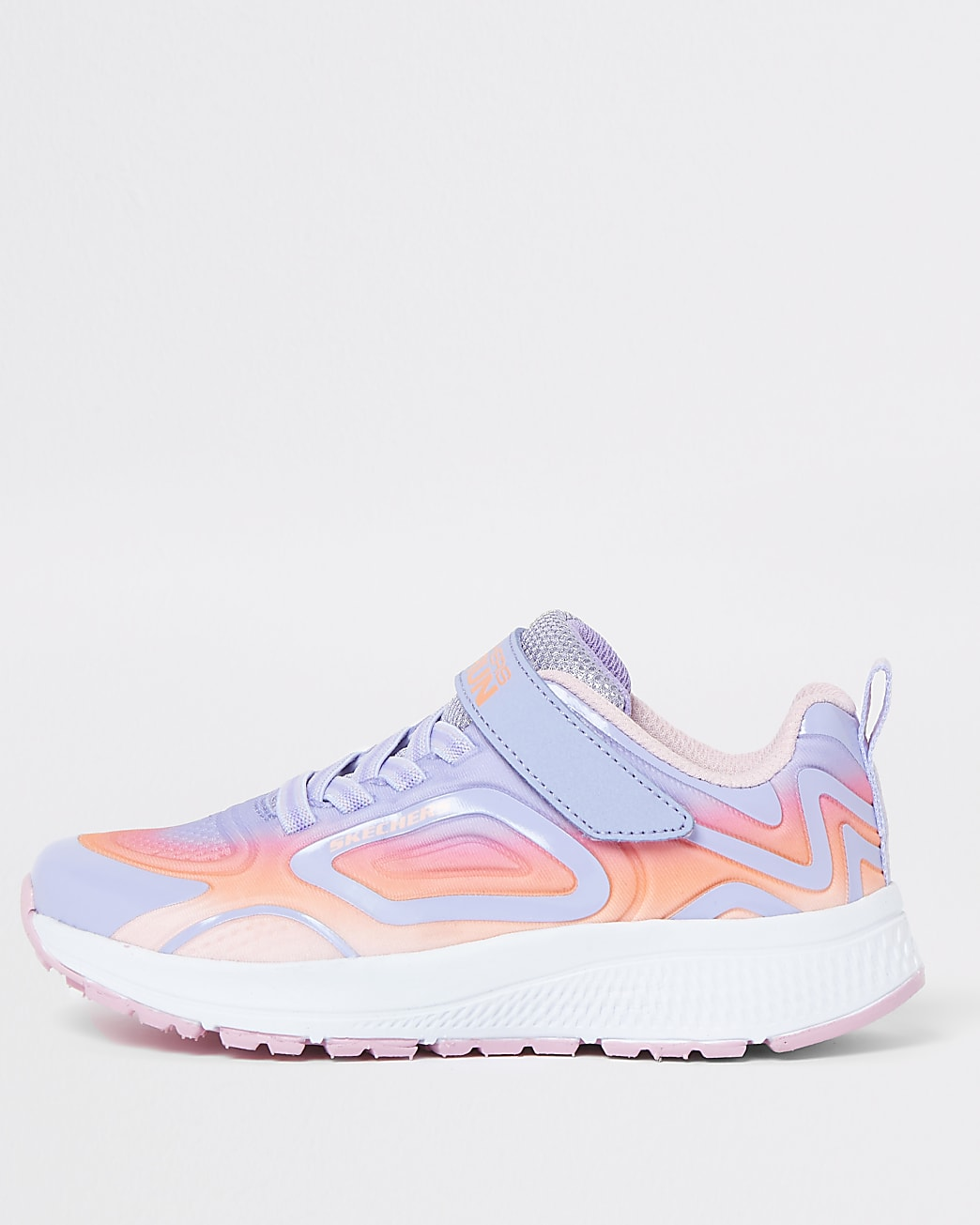 Girls Skechers pink trainers