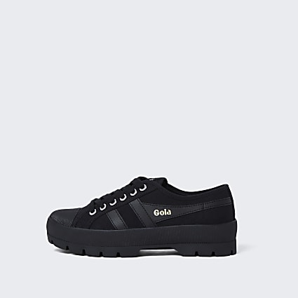 Gola black chunky vegan trainers